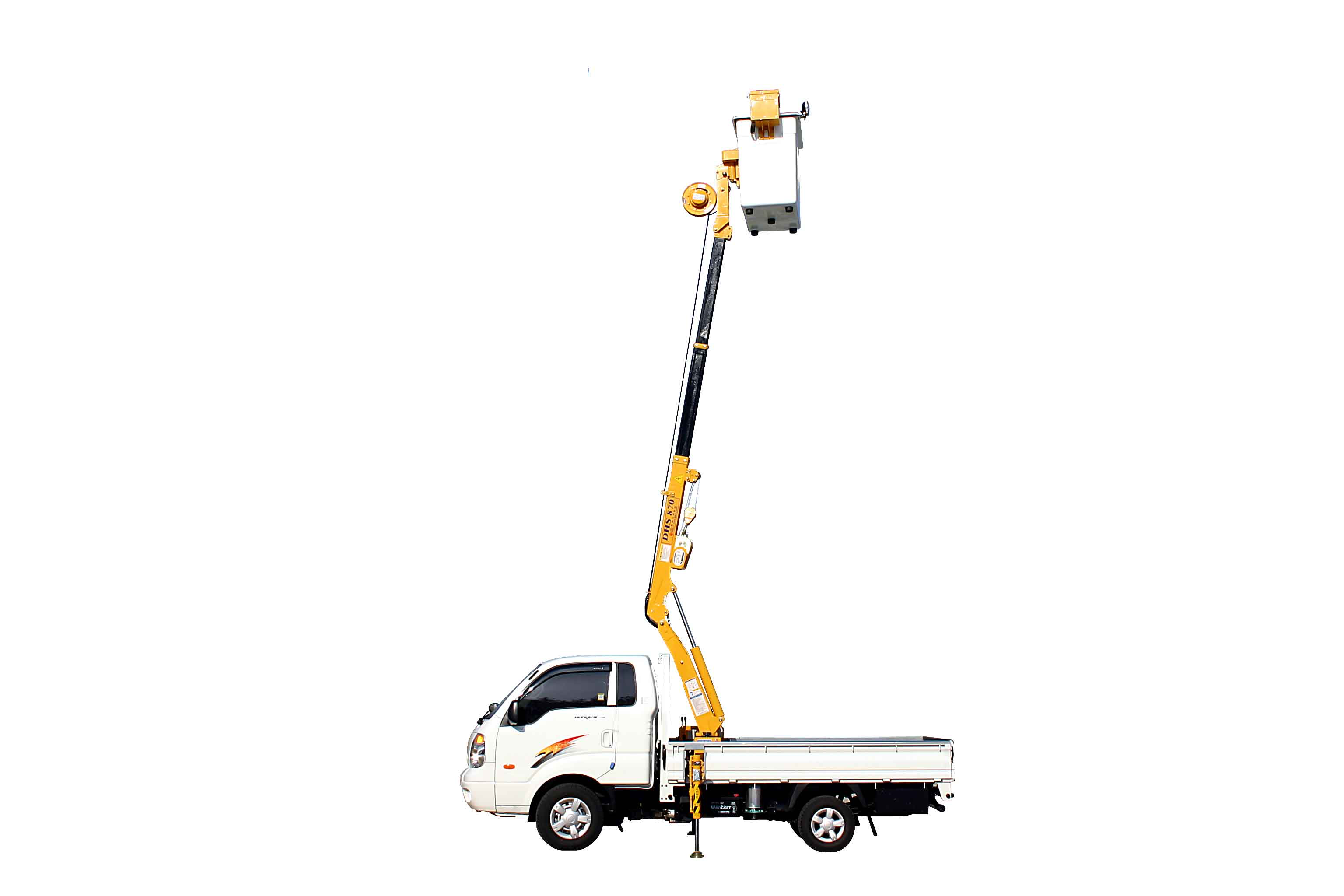 Truck Mounted Crane Dhs 870 Id Product Details