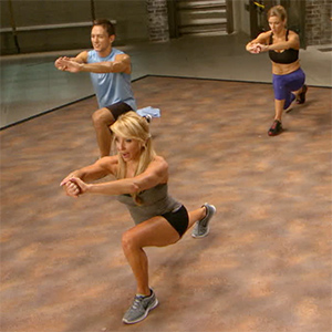 Pulsing Lunges