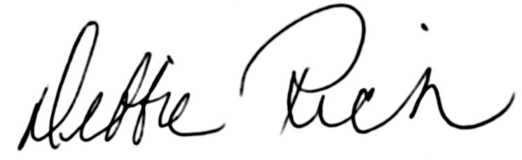 Debbie Rich signature