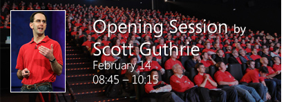 Opening Session by Scott Guthrie