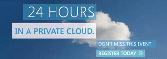 24 Hours in a Private Cloud. Don't miss this event - register today.