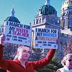 Iowa protesters