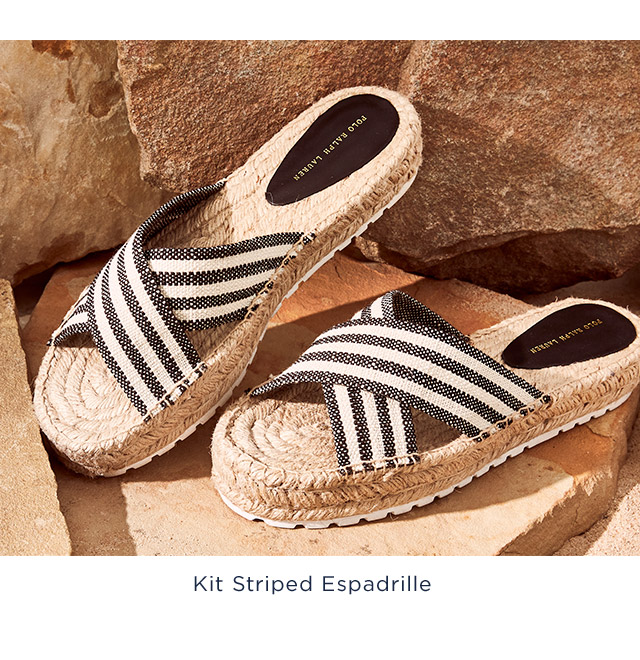Kit Sriped Espadrille