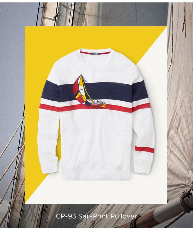 CP-93 Sail-Print Pullover