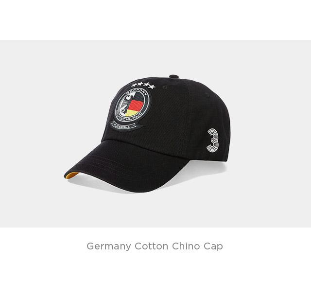Germany Cotton Chino Cap