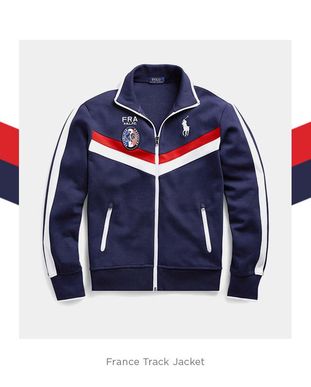 France Track Jacket