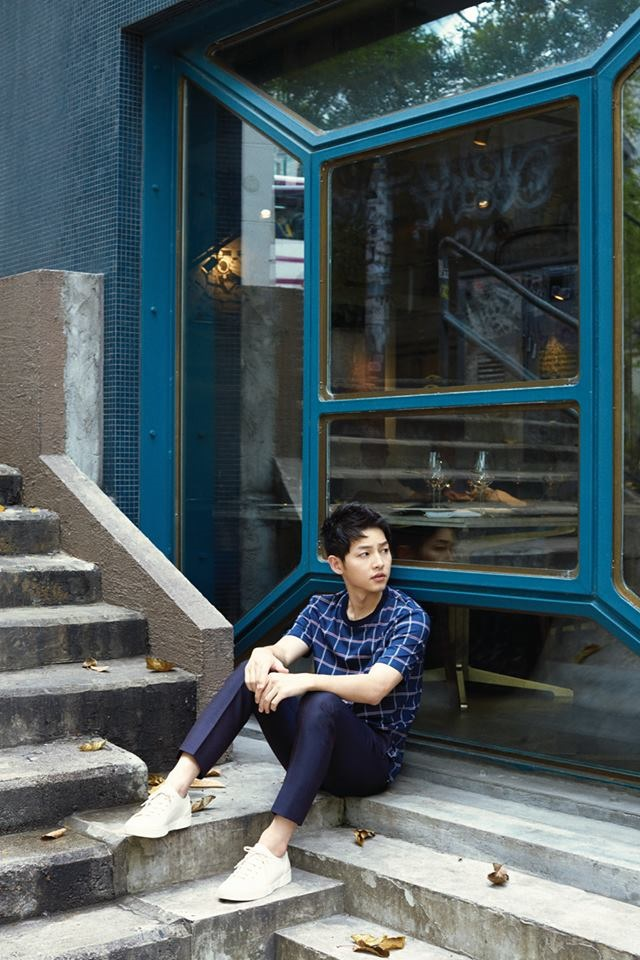 After Marie Claire, Song Joong-ki Lands on Cover of Harper