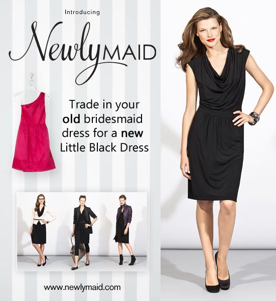 trade in old bridesmaids dresses with Dessy and Nearlymaid
