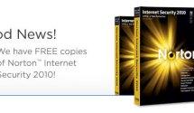 We have copies of Norton™ Internet Security 2010