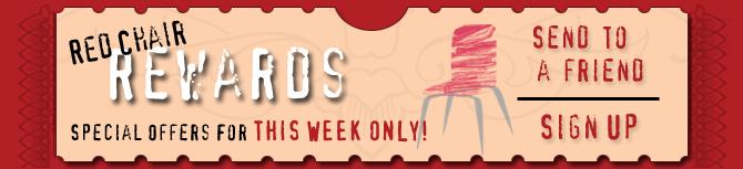 Red Chair Rewards header