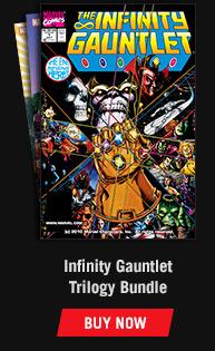Infinity Gauntlet Trilogy Bundle