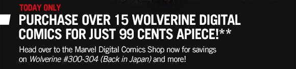 99 Cent Wolverine Comics