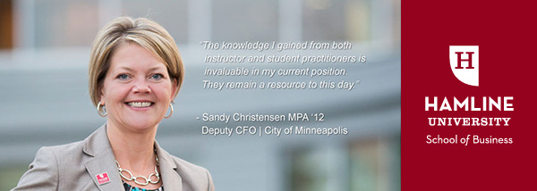 Sandy Christensen, MPA '12