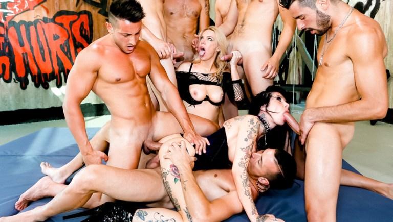 Porn Academy Anal Gangbang Training! (Rocco Siffredi #72357)