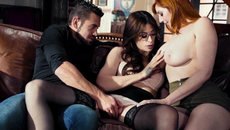 Menage A Trans #07 - Casey Kisses, Lauren Phillips & Dante Colle