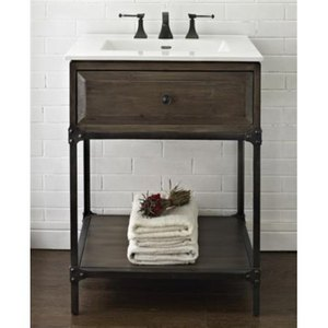 "f1401vh24/ftc2522w8 toledo up to 24"" bathroom vanity - driftwood"