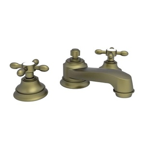 n1640/06 astaire 8'' widespread bathroom faucet - antique brass at