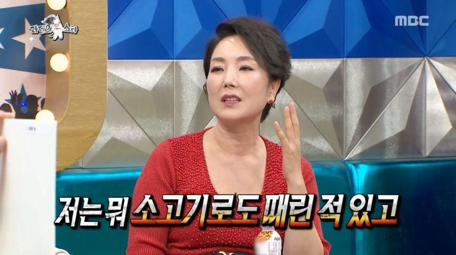 싸대기 전문 배우 이휘향의 전설