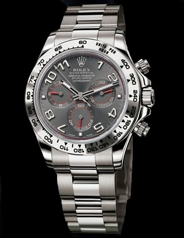 Quadrante Grigio Per Rolex Daytona 116519 Oro Bianco
