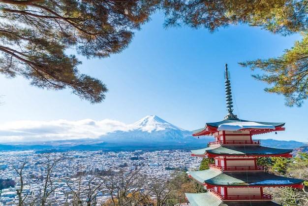 Pagoda Chureito