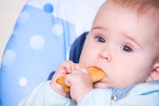 Bebê que come biscoitos tem mais risco de desenvolver sobrepeso