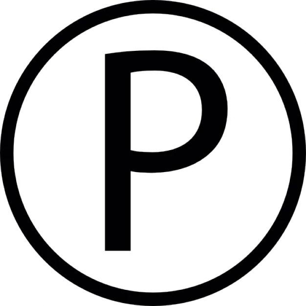 P Logo Circle Icons Free Download