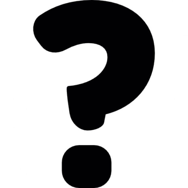Question mark black symbol Icons | Free Download