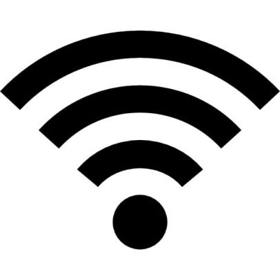 A wifi symbol