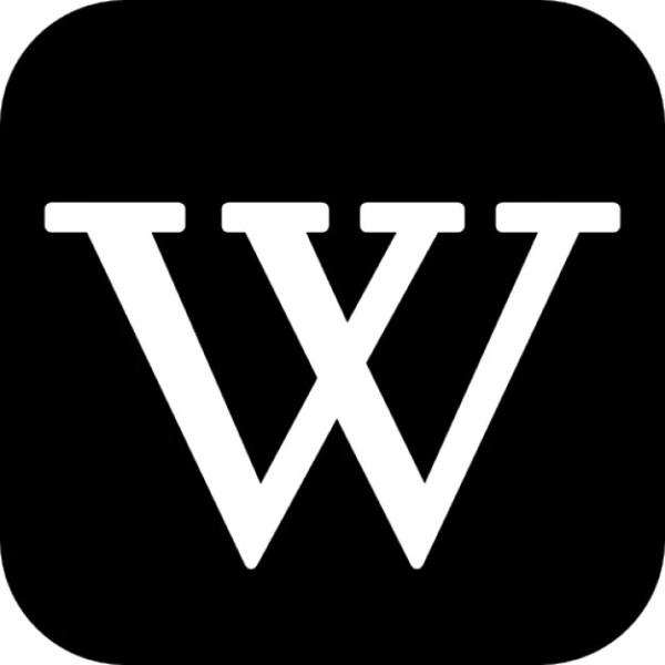 Wikipedia logotype Icons   Free Download