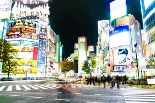 Architecture japan city urban road Free Photo