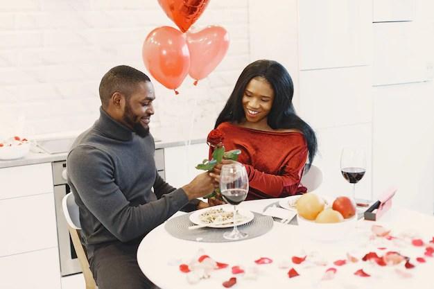 Dia dos Namorados em casa