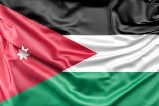 Flag of jordan Free Photo