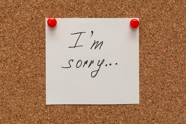 Sorry Messages for Her