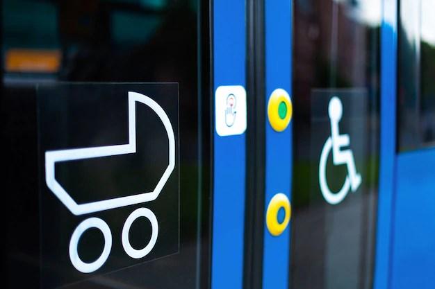 Barnvagn på tunnelbanan