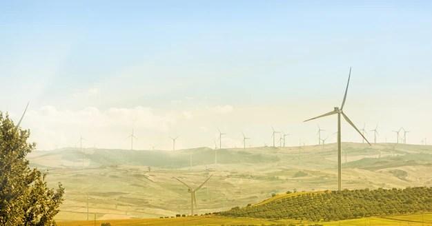 Wind turbines Premium Photo