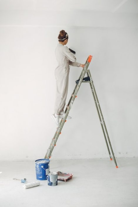 ladder safety at work