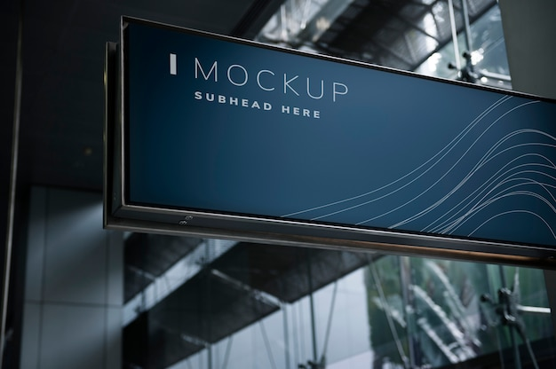 Download Airport Mockup Free Yellow Images