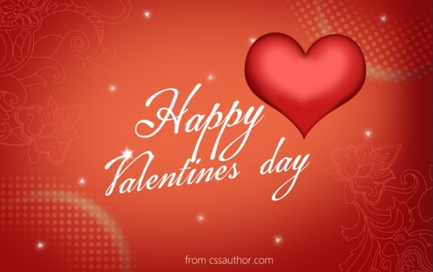 Download Free High Quality Happy Valentines Day Greeting