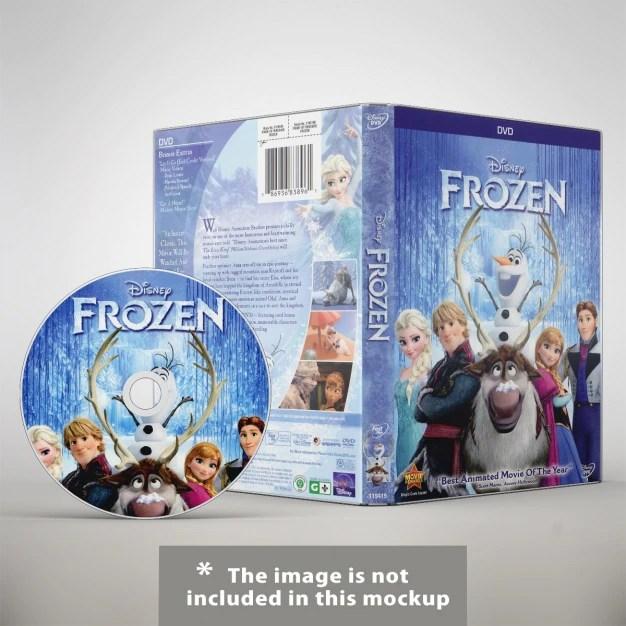 Download Dvd mock up design PSD file | Free Download