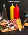 Free Psd Fast Food Restaurant Mockup