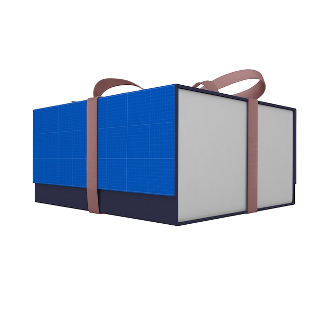 Download Gift box mockup | Premium PSD File