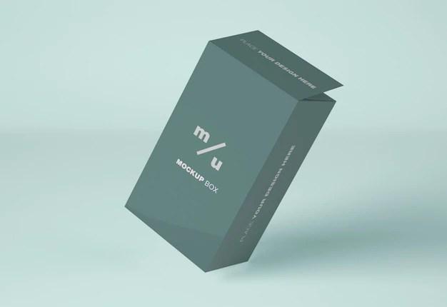 Download Rectangular box mockup | Premium PSD File