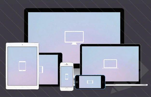 Screen Mockups For Responsive Designs Psd File Free Download