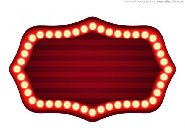 Theater Sign Template Psd Psd File Free Download