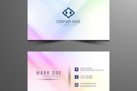Abstract business card design template Vector   Free Download Abstract business card design template Free Vector