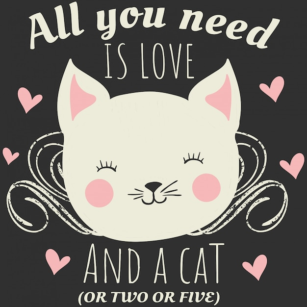 All you need is love   Premium Vector