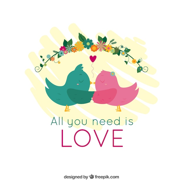 Download All you need is love Vector   Free Download