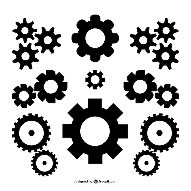 Gears Vectors Photos And PSD Files Free Download