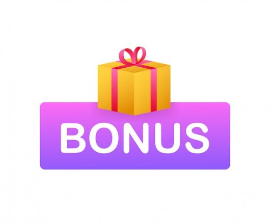 Premium Vector | Bonus for promotion design. surprise banner. discount  banner promotion template. web template for marketing promo design. stock  illustration.