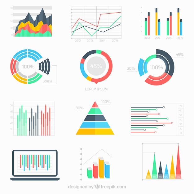 Business Data Infographic Vector Free Download